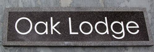 Granite House  Name Plates 20mm thick| The Sign Maker Shop